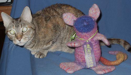 Kzin with Alien Pet